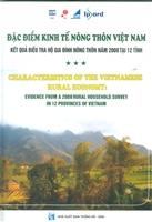 Đặc điểm kinh tế nông thôn Việt Nam: Kết quả điều tra hộ gia đình nông thôn năm 2008 tại 12 tỉnh