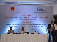"""Hội thảo """"Đánh giá chiến lược lĩnh vực lao động, việc làm và phát triển kỹ năng giai đoạn 2021-2030"""""""
