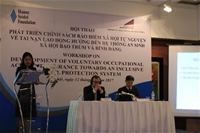 """Hội thảo: """"Phát triển chính sách BHXH tự nguyện về TNLĐ hướng đến hệ thống ASXH bao trùm và bình đẳng"""""""